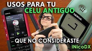 5 usos para tu celular antiguo que no consideraste - Las mejores ideas practicas