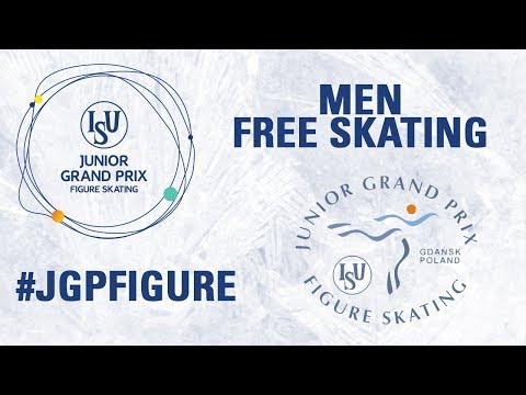 Men Free Skating  GDANSK 2017