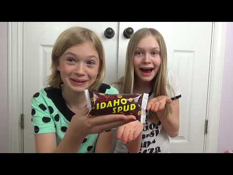Katherine & Rachael Try New Foods!!!