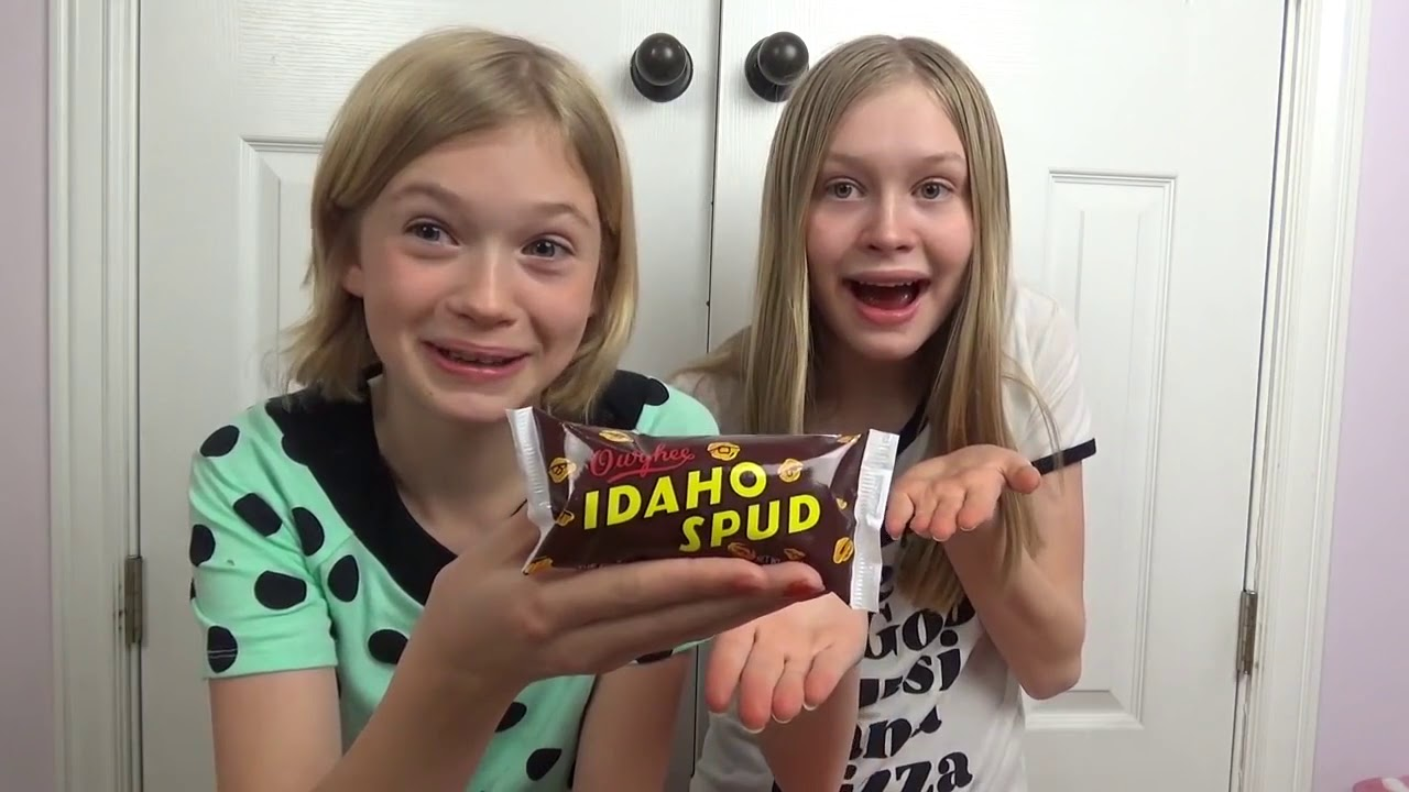 Download Katherine & Rachael Try New Foods!!!