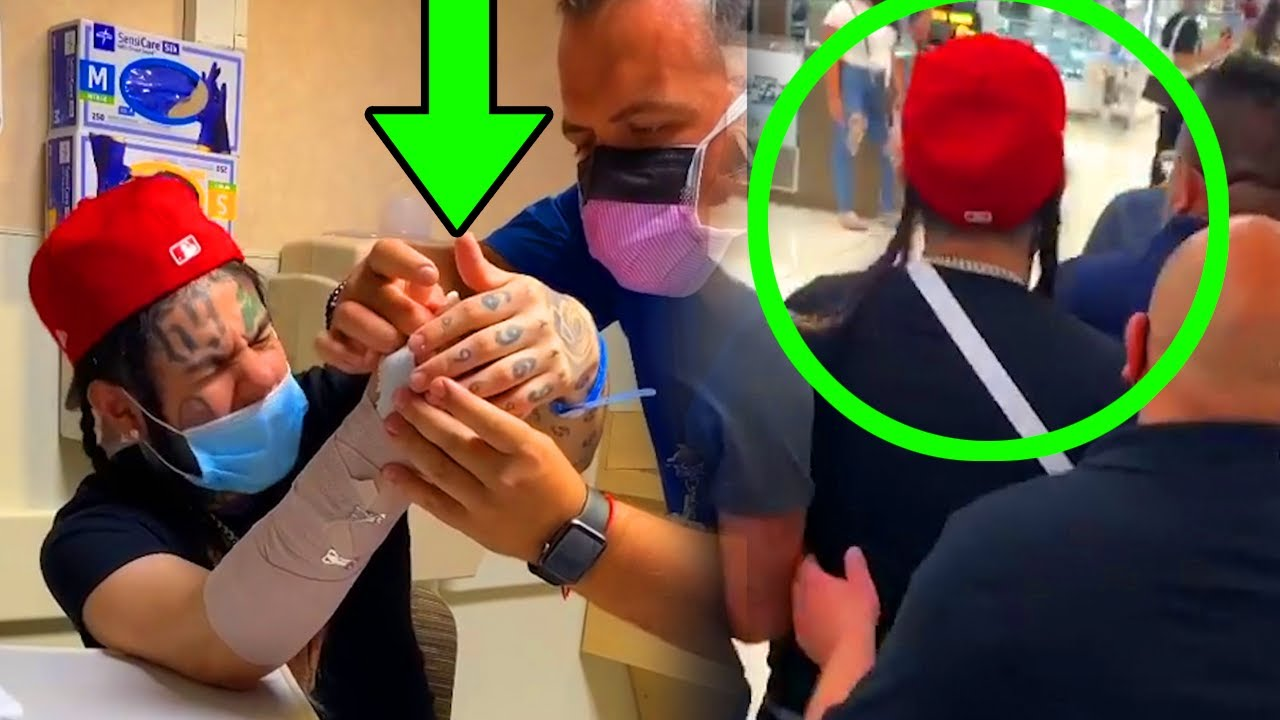6ix9ine RUSHED to Emergency Room! *Caught Lacking in Streets*