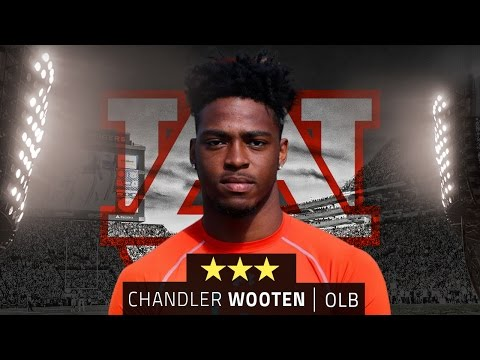 Chandler Wooten brings versatiliy to Auburn linebacker corps