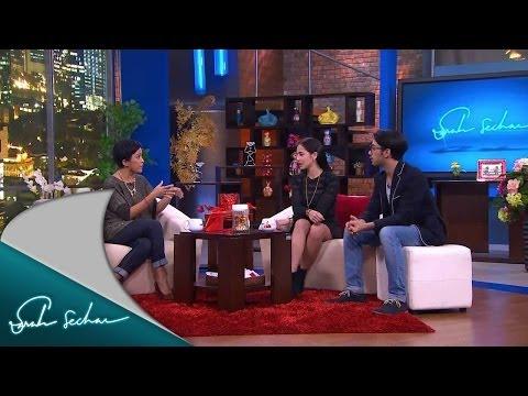 Sarah Sechan - Pevita Pearce dan Reza Rahadian cerita Film Tenggelamnya Kapal Van Der Wijck