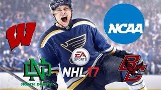 NHL 17 - NCAA Hockey Teams - Part 1