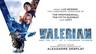 "Alexandre Desplat - Flight Above the Big Market (From ""Valerian and the City of a Thousand Planets"")"