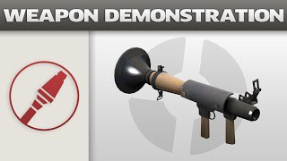 Weapon Demonstration: Rocket Launcher