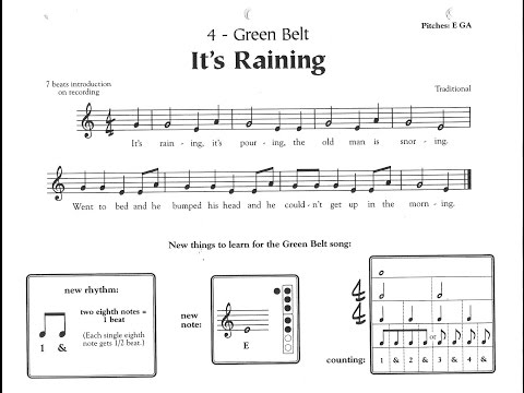 It's Raining - Green Belt