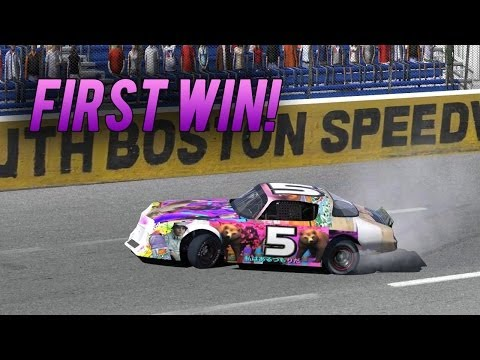 iRacing | My First Win! (Street Stock at South Boston)