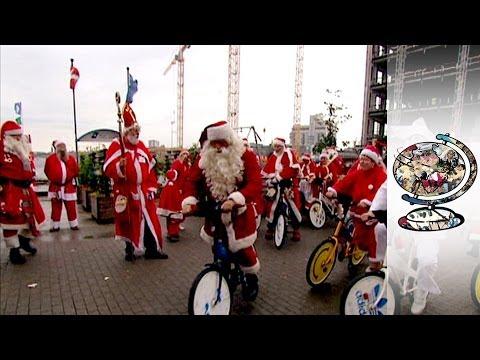Copenhagen's bizarre Christmas tradition