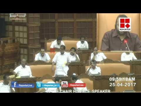 Again Tongue Slip For Thiruvanchoor Radhakrishnan │Reporter Live