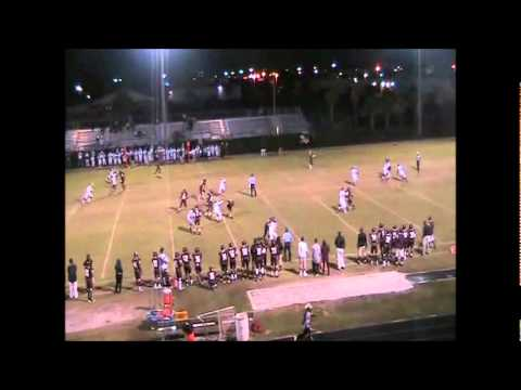#6 ATH Fred Taylor Palm Beach Lakes Football Highlights