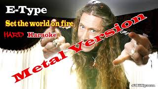E-Type - Set The World On Fire (Teaser) | #cover #metal #90е #Etype