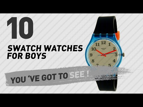 Top 10 Swatch Watches For Boys // New & Popular 2017