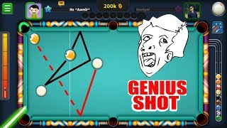 IMPOSSIBLE CAN BE MADE POSSIBLE...(this ridiculous pool shot proves it)