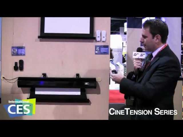 CineTension2 Series live from CES 2012. Las Vegas, NV