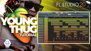 How To Create A Young Thug x Gunna Type Beat On FL Studio 2019 | Dark Trap Tutorial