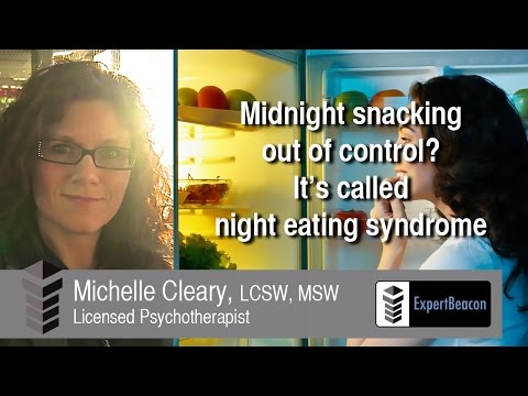 Midnight snacking out of control? It's called night eating syndrome