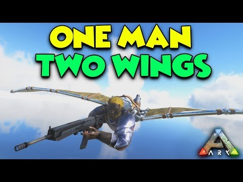 WINGSUITS and GRAPPLING HOOKS  -  (Aberration) ARK Duo Survival Series #3