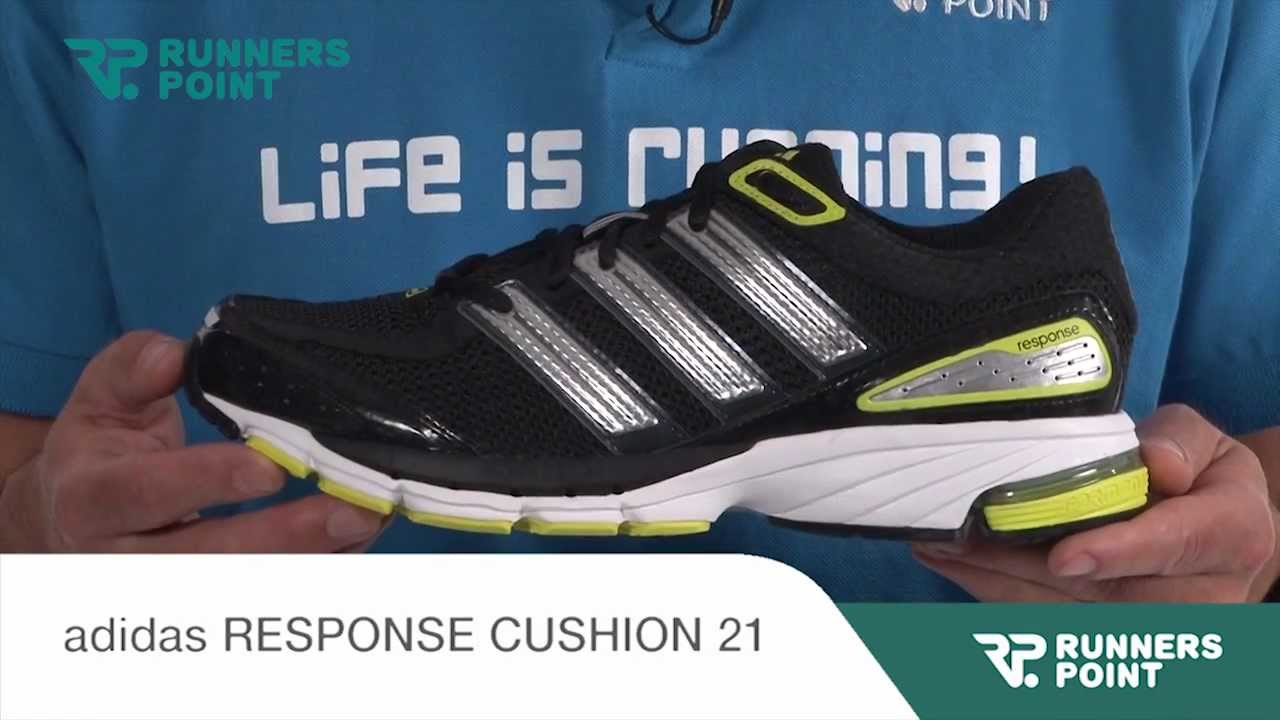 6ecb0a92ba4 adidas RESPONSE CUSHION 21 - YouTube