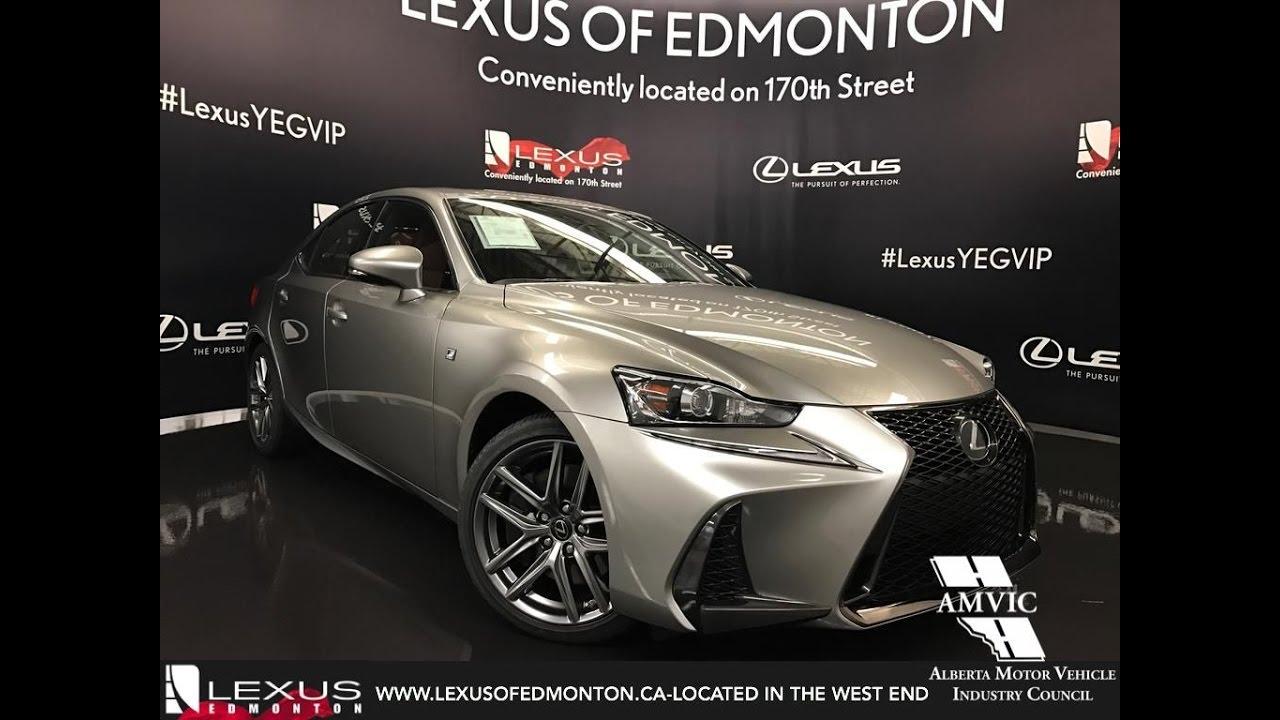 2017 lexus is 350 awd