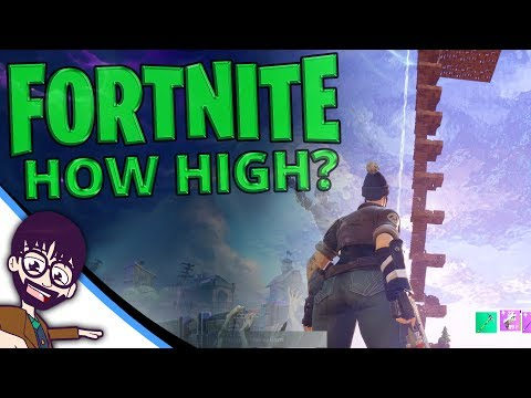 Fortnite - How High Can You Build? Tallest Tower Ever!