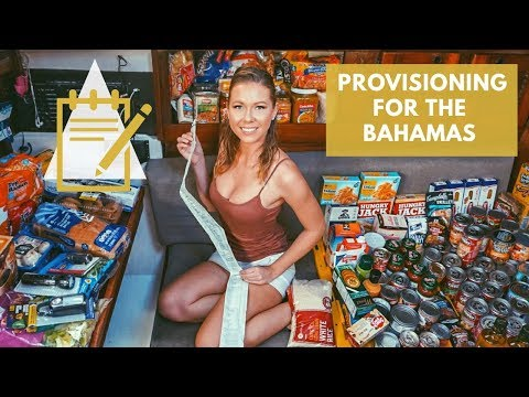 Provisioning for the Bahamas
