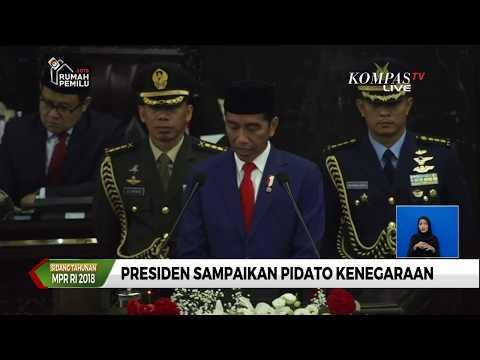 FULL - Presiden Jokowi Sampaikan Pidato Kenegaraan