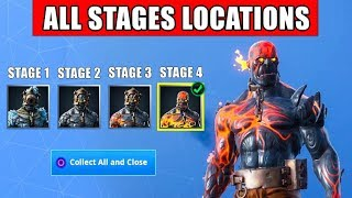 All Prisoner Stages in Fortnite | All Prisoner Keys Locations (Snowfall Skin Fortnite Battle Royale)