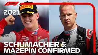 Schumacher And Mazepin: How Will The Rookies Fare In 2021?