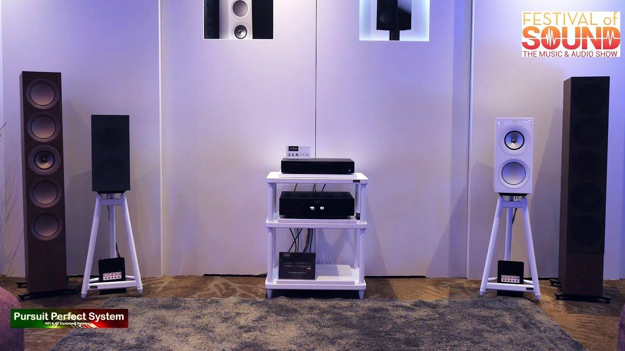 NEW KEF R3 Speakers HEGEL, INNUOS Demo @ Festival of Sound 2018