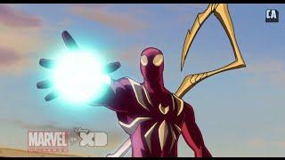 """Ultmate Spider-Man Season 3, Episode 4 - """"The Next Iron Spider"""" Clip"""