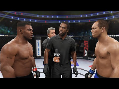 UFC Mike Tyson VS Royce Gracie