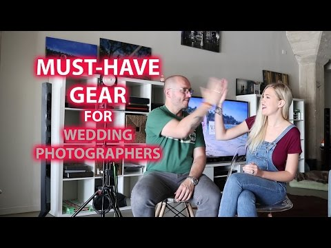 Must Have Gear For Wedding Photographers