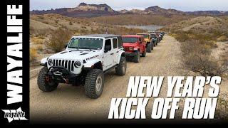 WAYALIFE NEW YEAR KICK OFF RUN : Desert Off Road & Rock Crawling Fun in Jeep JL & JK Wranglers