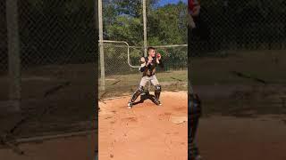 Wesley Mann - Catcher - Class of 2021 - Receiving/Footwork