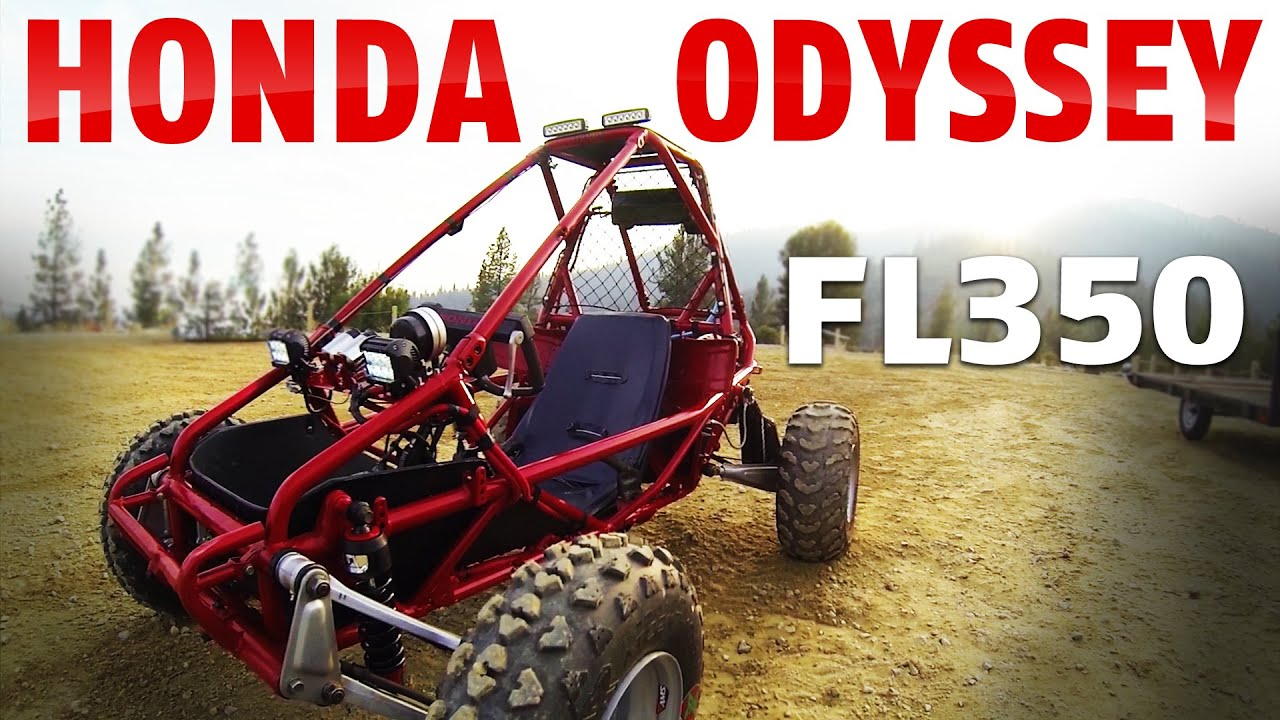 honda odyssey fl 350 engine is broke in now lets see
