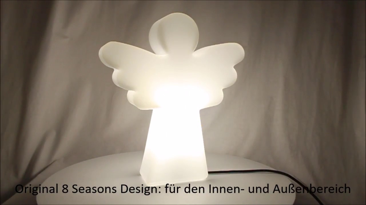 8 Seasons Design Deko-Leuchte Engel Shining Angel 40 cm ...