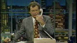 Part 1 of 6 NBC Late Night with David Letterman December 1991 including commercials