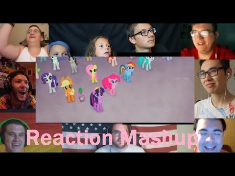 My Little Pony  The Movie 2017 Official Trailer   REACTION MASHUP