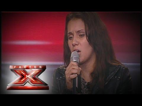 PAIGE FERREIRA - FACTOR X - AUDIÇÃO PGM 04 - 2013
