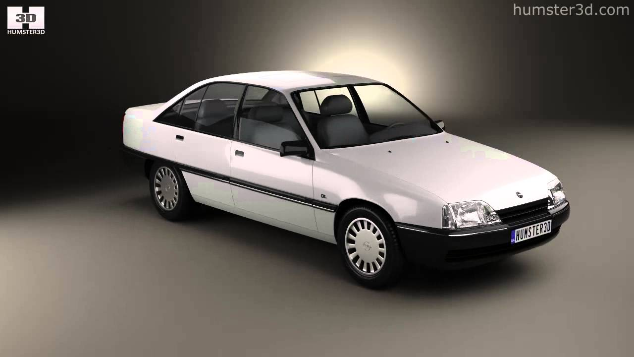 opel omega a 1987 by 3d model store youtube. Black Bedroom Furniture Sets. Home Design Ideas