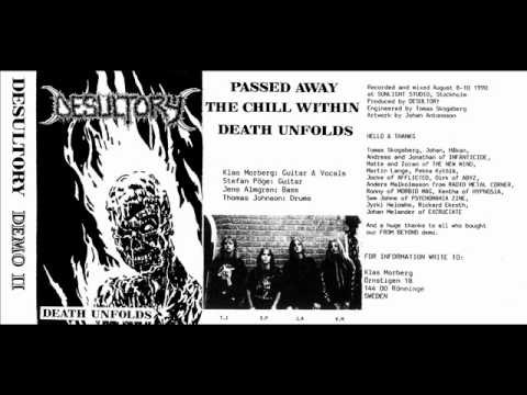 "DESULTORY -  1990 ""Death Unfolds"" (Demo II) - Sweden (Full)"