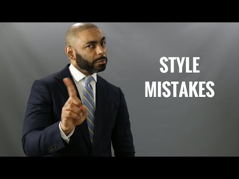 Top 10 Biggest Men's Style Mistakes/Worst Style Mistakes