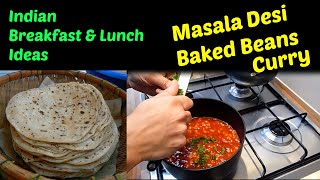 Masalla Desi Baked Beans Curry Recipe - Easy Indian Breakfast Lunch Ideas | Cook With Anisa