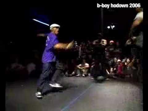 Uprock – Rob Nasty vs. Foots at B-Boy Hodown 2006 on YouTube
