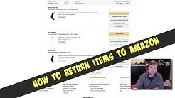 How To Return Items To Amazon