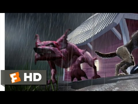Barnyard (4/10) Movie CLIP - Coyote Attack! (2006) HD