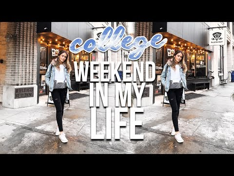 COLLEGE WEEKEND IN MY LIFE: NC State University | Natalie Barbu