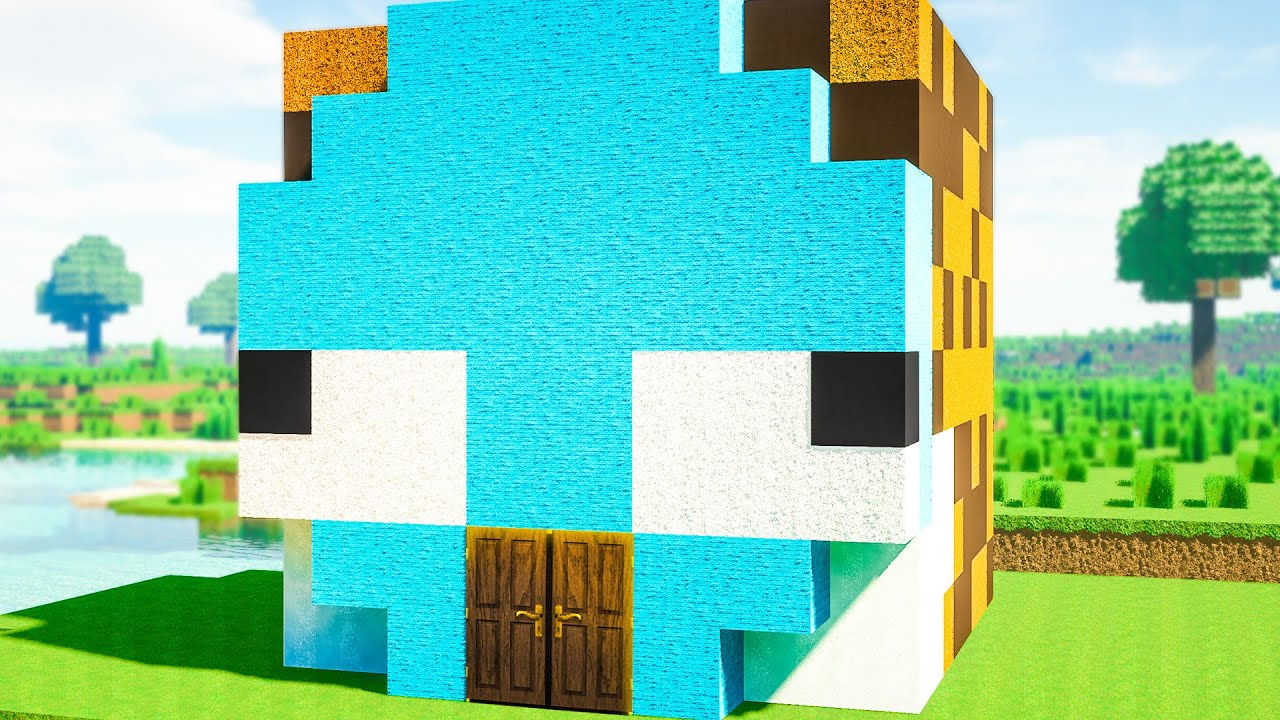 EXTREME Minecraft House Battle vs WISP!