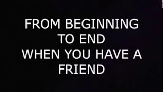 Repeat youtube video Demi Lovato - Gift of A Friend Lyrics